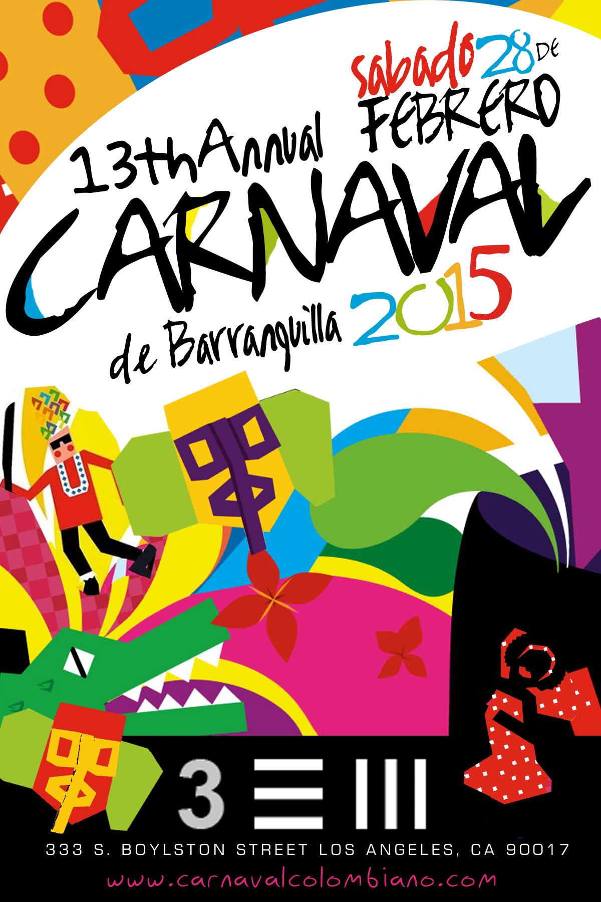 13th Annual Carnaval De Barranquilla En Los Angeles