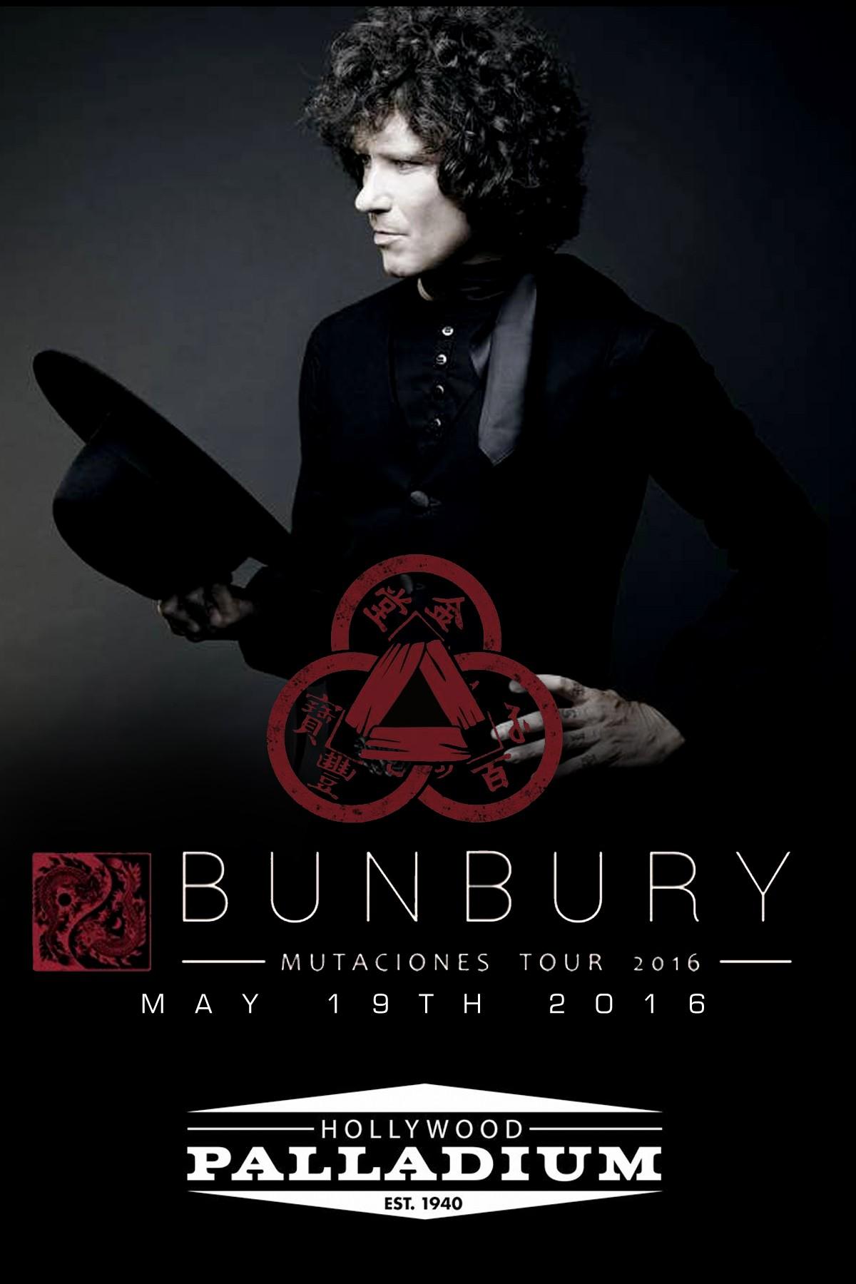 Bunbury concert 2019